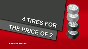 Big O Tires Buy Two Tires, Get Two Free Sale TV Spot, 'Once a Year' - Thumbnail 3