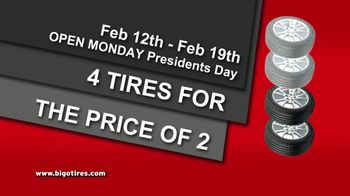 Big O Tires Buy Two Tires, Get Two Free Sale TV Spot, 'Once a Year' - Thumbnail 4