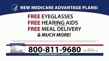 Medicare Benefits Hotline TV Spot, 'Plans Available'