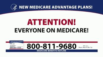 Medicare Benefits Hotline TV Spot, 'Plans Available' - Thumbnail 1