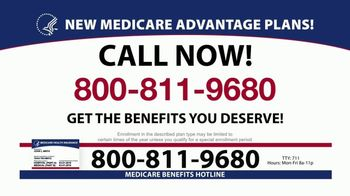 Medicare Benefits Hotline TV Spot, 'Plans Available' - Thumbnail 3