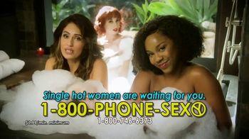 1-800-PHONE-SEXY TV Spot, 'Hot Bath'
