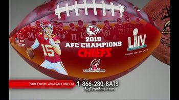 Big Time Bats TV Spot, 'Chiefs 2019 AFC Champions Footballs' - Thumbnail 1