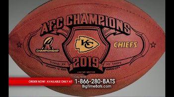Big Time Bats TV Spot, 'Chiefs 2019 AFC Champions Footballs'