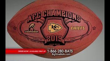 Big Time Bats TV Spot, 'Chiefs 2019 AFC Champions Footballs' - Thumbnail 2