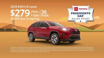 Toyota Presidents Day Sales Event TV Spot, 'Log Rolling: 2020 RAV4' [T2] - Thumbnail 4