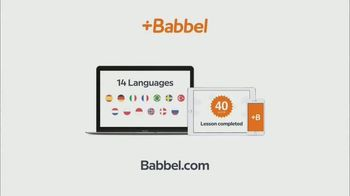 Babbel TV Spot, 'Daily Lessons' - Thumbnail 10