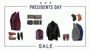 Men's Wearhouse Presidents Day Sale TV Spot, 'VIP Savings' - Thumbnail 1