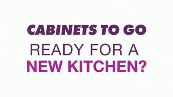 Cabinets To Go Buy One, Get One Sale TV Spot, 'Free 3D Design' - Thumbnail 1