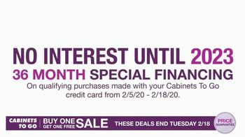 Cabinets To Go Buy One, Get One Sale TV Spot, 'Free 3D Design' - Thumbnail 4