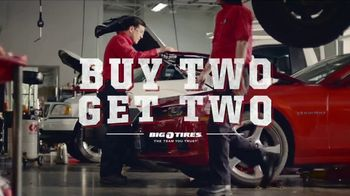 Big O Tires Buy Two Tires, Get Two Free Sale TV Spot, 'Neighbors' - Thumbnail 1
