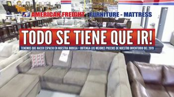 American Freight TV Spot, 'Todo se tiene que ir' [Spanish] - Thumbnail 1