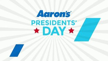Aaron's Presidents Day Event TV Spot, '$5 Gets You Started' - Thumbnail 1