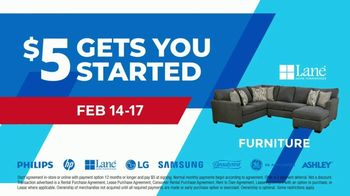 Aaron's Presidents Day Event TV Spot, '$5 Gets You Started' - Thumbnail 4