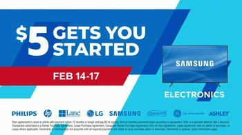 Aaron's Presidents Day Event TV Spot, '$5 Gets You Started' - Thumbnail 5