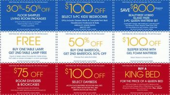 Rooms to Go Presidents Day Sale TV Spot, 'Extra Savings and Bonus Coupons' - Thumbnail 6