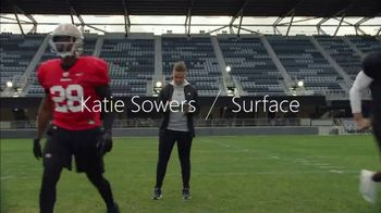 Microsoft Surface Pro 7 TV Spot, 'Your Dream is Coming: $330' Featuring Katie Sowers - Thumbnail 4