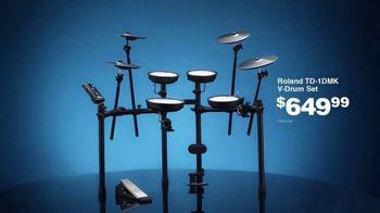 Guitar Center Presidents Day Sale TV Spot, 'You Want Gear: Drum Set' - Thumbnail 5