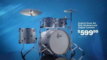 Guitar Center Presidents Day Sale TV Spot, 'You Want Gear: Drum Set' - Thumbnail 8