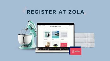 Zola TV Spot, 'All in One Universal Registry: 20% Off' - Thumbnail 9