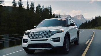 Ford Presidents Day Sellathon TV Spot, 'Pouring Presidents: Explorer' [T2] - Thumbnail 2
