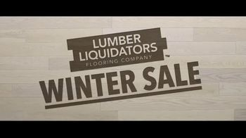 Lumber Liquidators Winter Sale TV Spot, 'Change Everything' Song by Electric Banana - Thumbnail 2