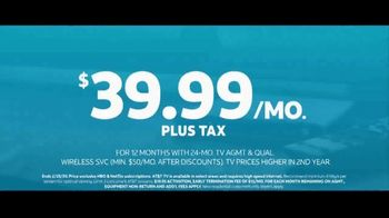 AT&T TV TV Spot, 'Synergized: $39.99' Featuring Michael B. Silver - Thumbnail 10