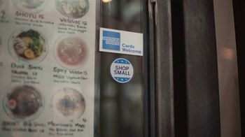 American Express TV Spot, 'Shop Small: Ramen Restaurant Date' - Thumbnail 1