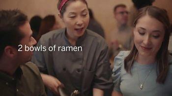American Express TV Spot, 'Shop Small: Ramen Restaurant Date' - Thumbnail 3