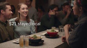 American Express TV Spot, 'Shop Small: Ramen Restaurant Date' - Thumbnail 8
