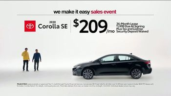 Toyota We Make It Easy Sales Event TV Spot, 'No Hoopla' [T2] - Thumbnail 2