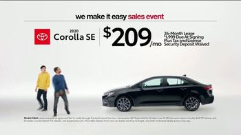 Toyota We Make It Easy Sales Event TV Spot, 'No Hoopla' [T2] - Thumbnail 5