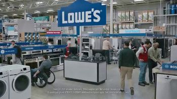 Lowe's Presidents Day Event TV Spot, 'Outdated Appliances' - Thumbnail 4