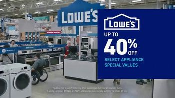 Lowe's Presidents Day Event TV Spot, 'Outdated Appliances' - Thumbnail 5