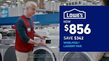 Lowe's Presidents Day Event TV Spot, 'Outdated Appliances' - Thumbnail 7