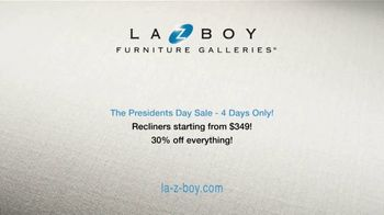 La-Z-Boy Presidents Day Sale TV Spot, 'Hassle Free: Recliners' - Thumbnail 7