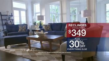 La-Z-Boy Presidents Day Sale TV Spot, 'Hassle Free: Recliners' - Thumbnail 6
