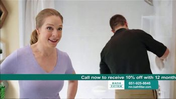 Bath Fitter TV Spot, 'Demolition: 10 Percent Off'
