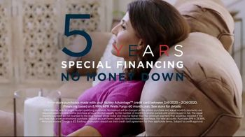Ashley HomeStore Presidents Day Sale TV Spot, 'Five Years Financing' Song by Midnight Riot - Thumbnail 4