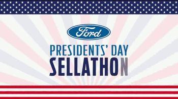 Ford Presidents Day Sellathon TV Spot, 'Pouring Presidents: Ranger' [T2] - Thumbnail 1