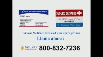 Solara Medical Supplies TV Spot, 'Monitor continúo de glucosa' [Spanish] - Thumbnail 9