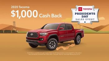 Toyota Presidents Day Sales Event TV Spot, 'Decreed: Tacoma' [T2] - Thumbnail 2