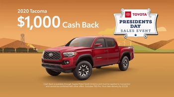 Toyota Presidents Day Sales Event TV Spot, 'Decreed: Tacoma' [T2] - Thumbnail 3
