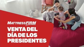 Mattress Firm Venta del Día de los Presidentes TV Spot, \'King a precio Queen\' [Spanish]