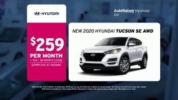 AutoNation Weekend of Wow TV Spot, 'Priced to Wow: 2020 Hyundai Tucson' - Thumbnail 3