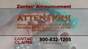 Zantac Claims TV Spot, 'Announcement' - Thumbnail 1