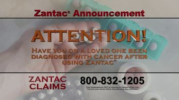 Zantac Claims TV Spot, 'Announcement'