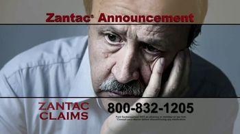 Zantac Claims TV Spot, 'Announcement' - Thumbnail 3