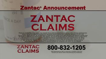 Zantac Claims TV Spot, 'Announcement' - Thumbnail 7