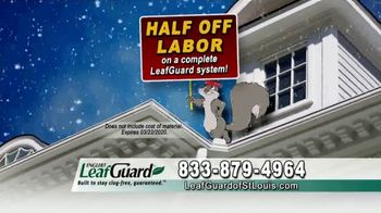 LeafGuard of St. Louis Winter Half Off Sale TV Spot, 'Tired of Old Clogged Up Gutters: Gas Card' - Thumbnail 7